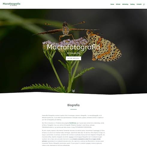 Sito web di macrofotografia