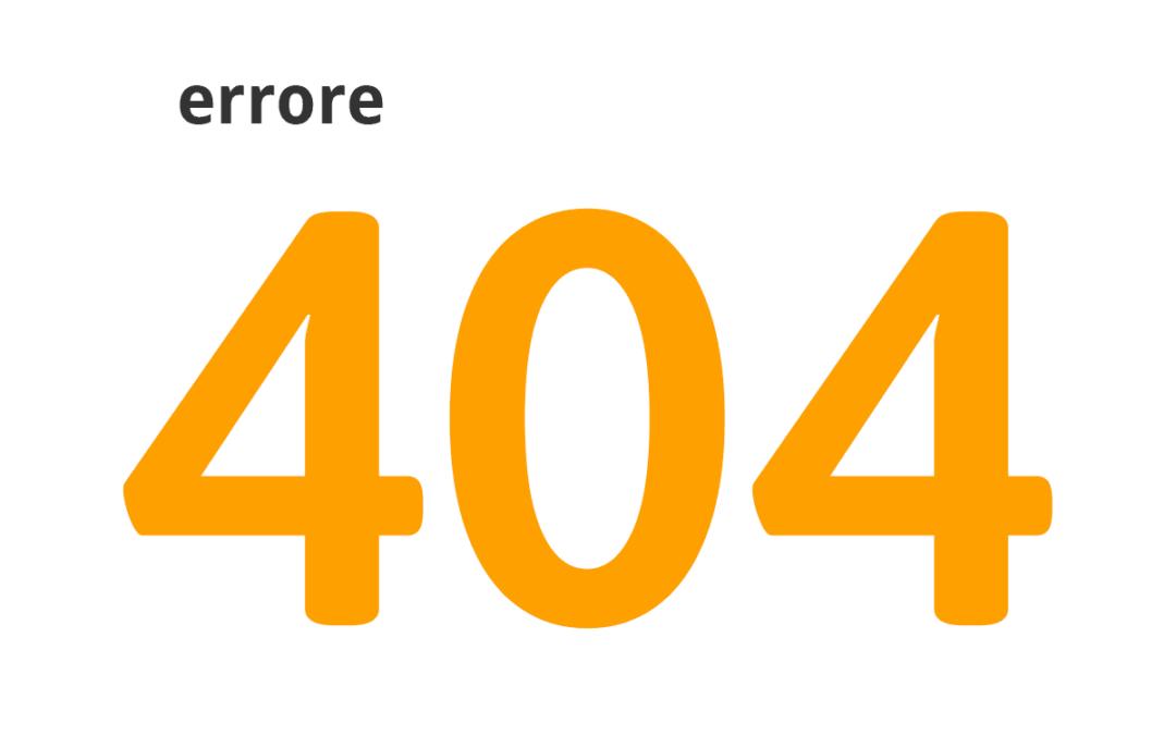 Come correggere gli errori 404 in pochi minuti