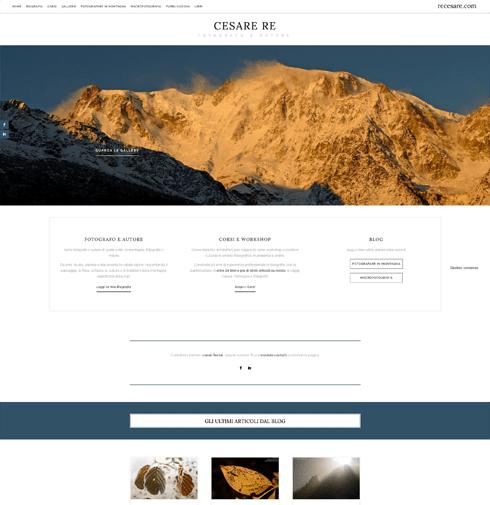 Sito web Cesare Re